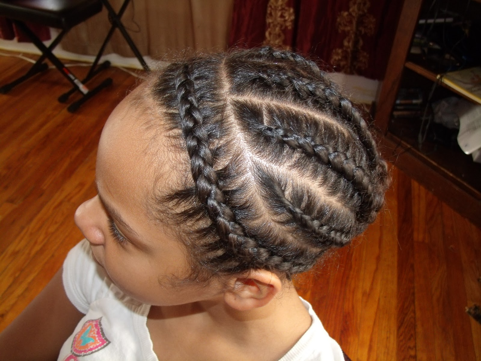 dirty blonde hairstyles : ... Curls: Cute protective hairstyle for tweens/teens/adults natural hair
