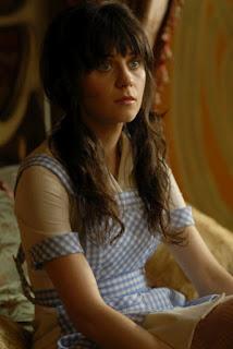 A atriz Zooey Deschanel na série estadunidense Tin Man - A nova geração de OZ