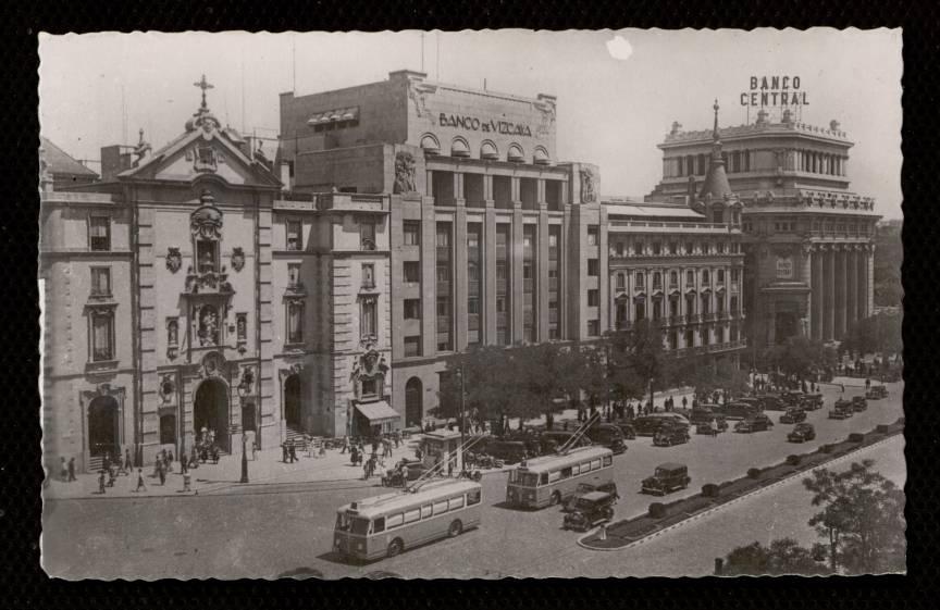 Historias matritenses entidades financieras en madrid for Sucursales banco de espana madrid