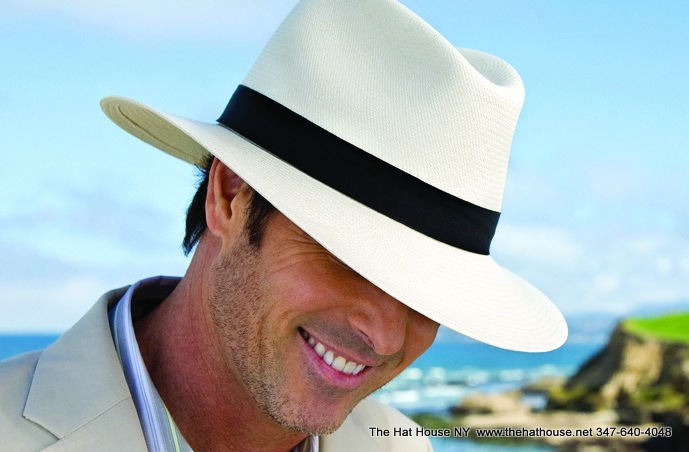 Panama hat for Derby Men or Women
