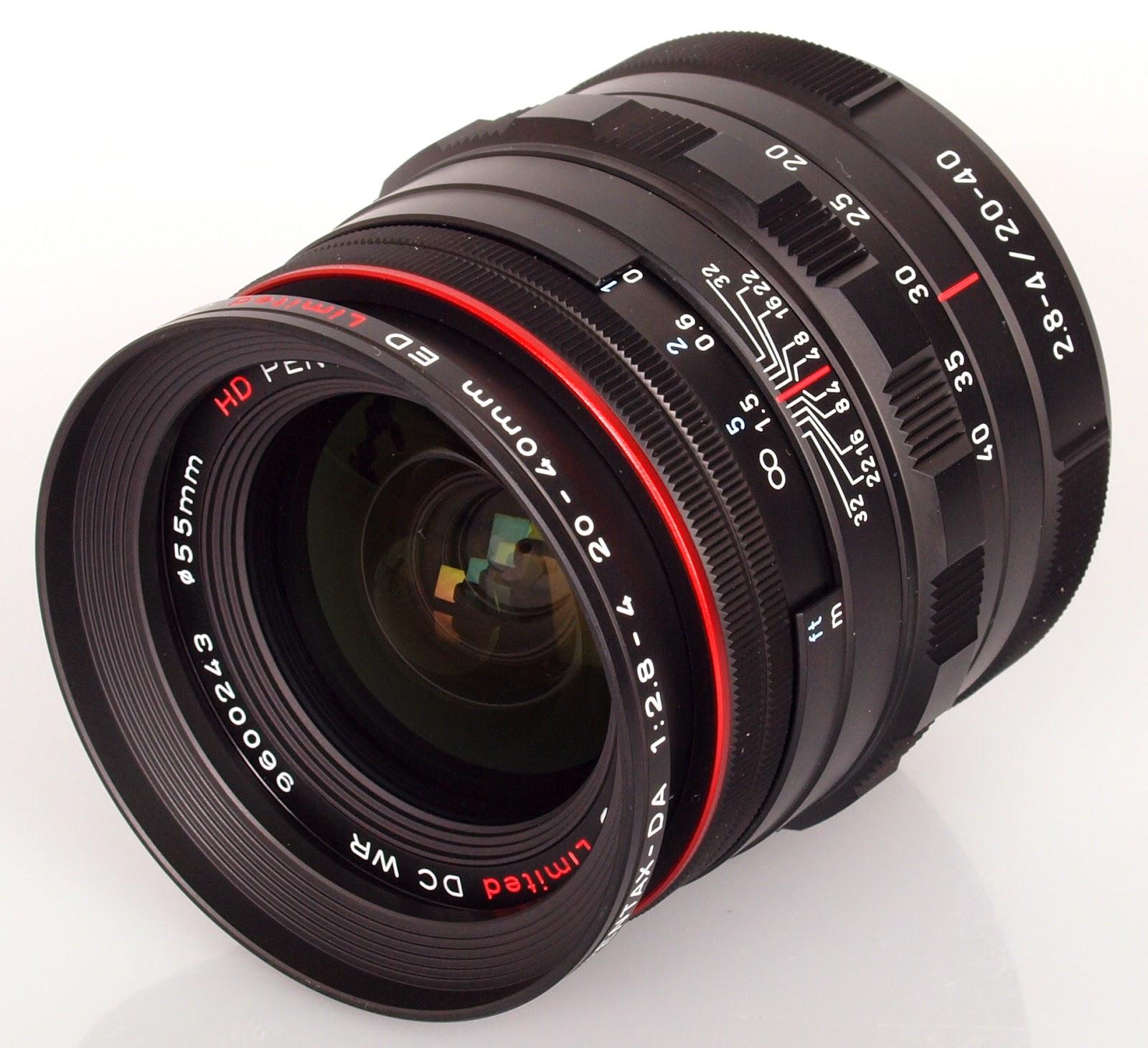 Pentax HD DA 20-40 mm фото
