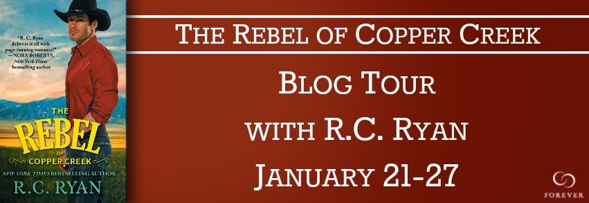 Blog Tour: Book Spotlight + Giveaway – The Rebel of Copper Creek by R.C. Ryan