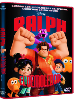 Wreck-It Ralph DVDR NTSC Español Latino