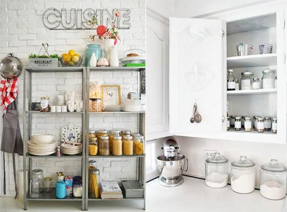 como organizar a cozinha - armários bem arrumados - armário de cozinha - dicas de organização