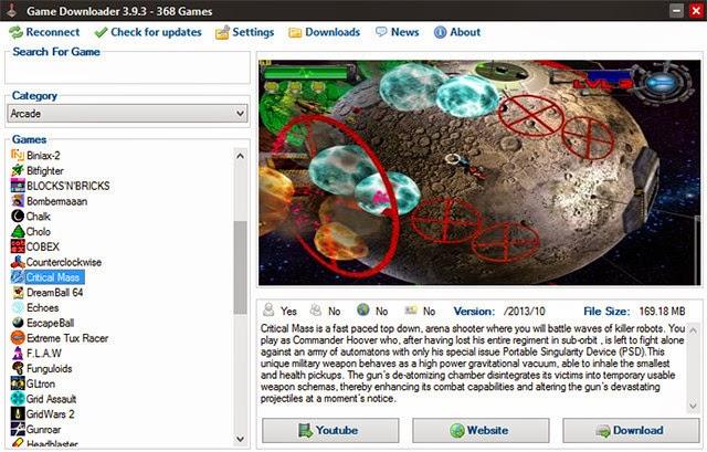 Game Downloader تحميل العاب مجانا للكمبيوتر 2014