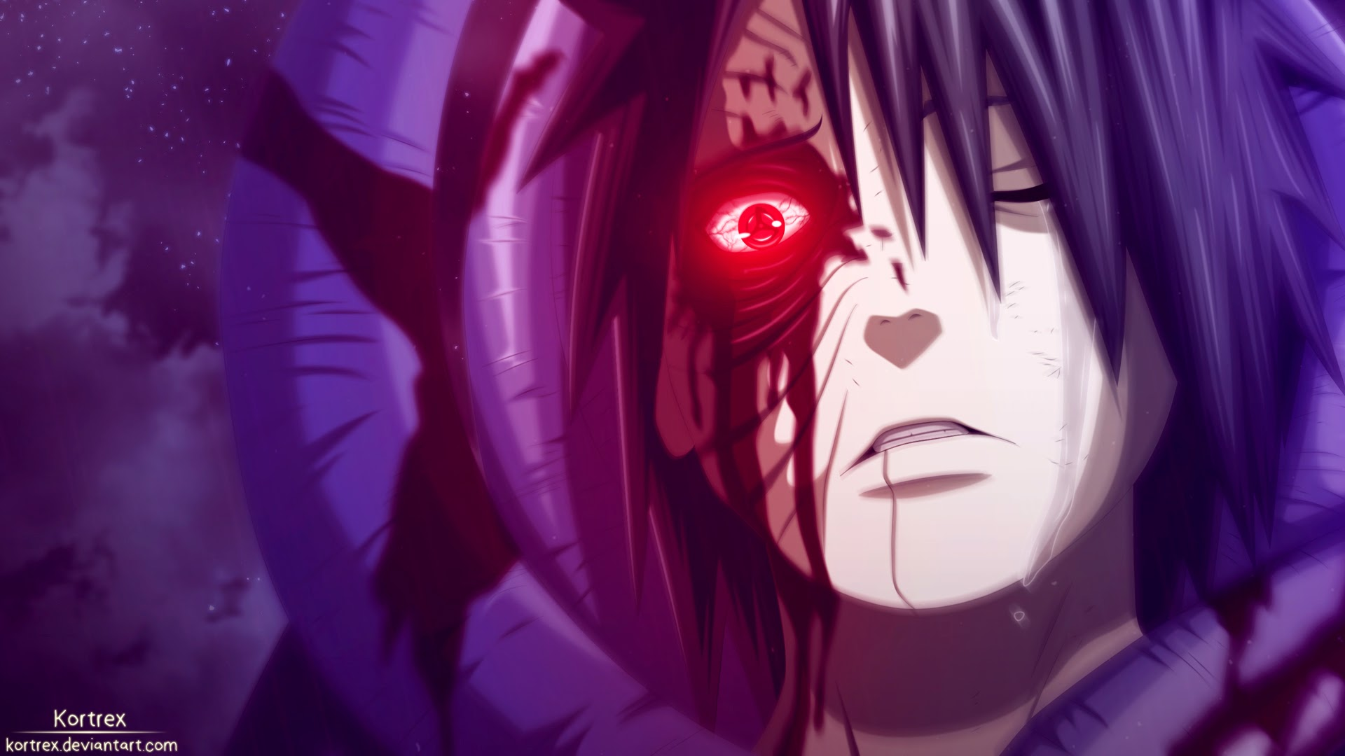 Obito Sharingan Eyes