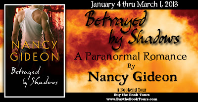 Bookend Tour: Betrayed by Shadows by Nancy Gideon {Guest Post + Giveaway}