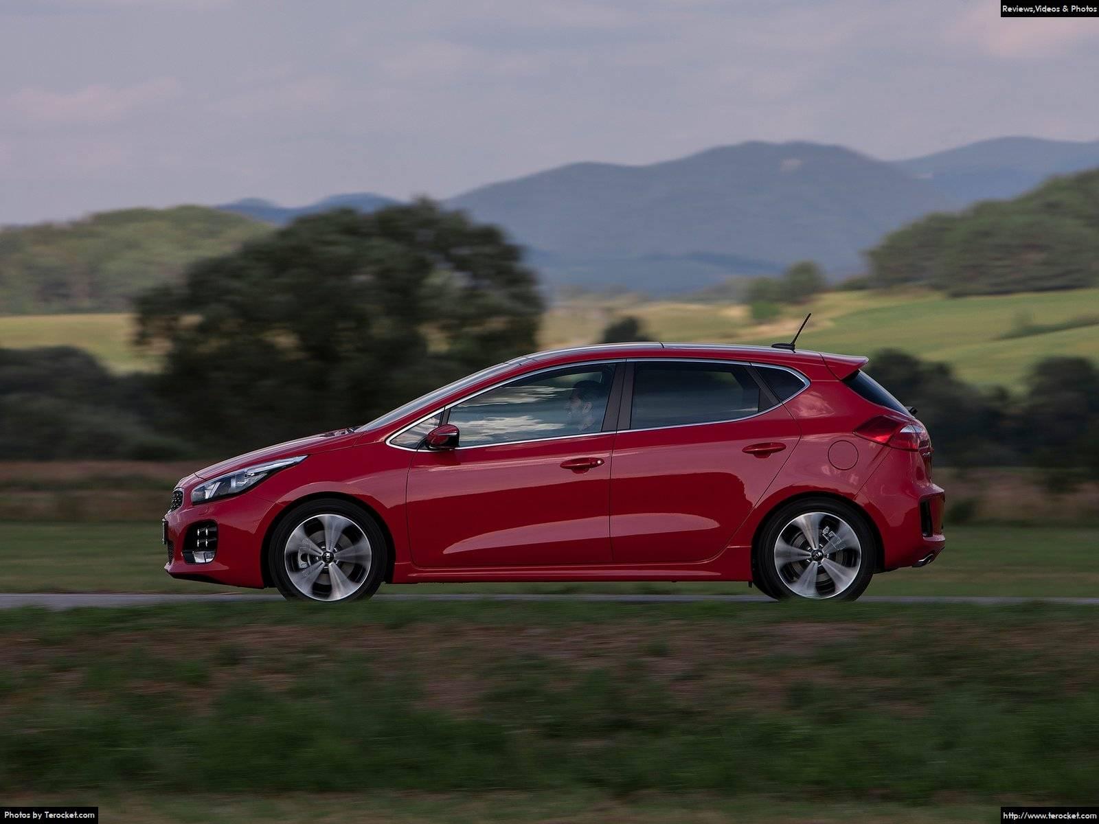 Hình ảnh xe ô tô Kia Ceed GT-Line 2016 & nội ngoại thất