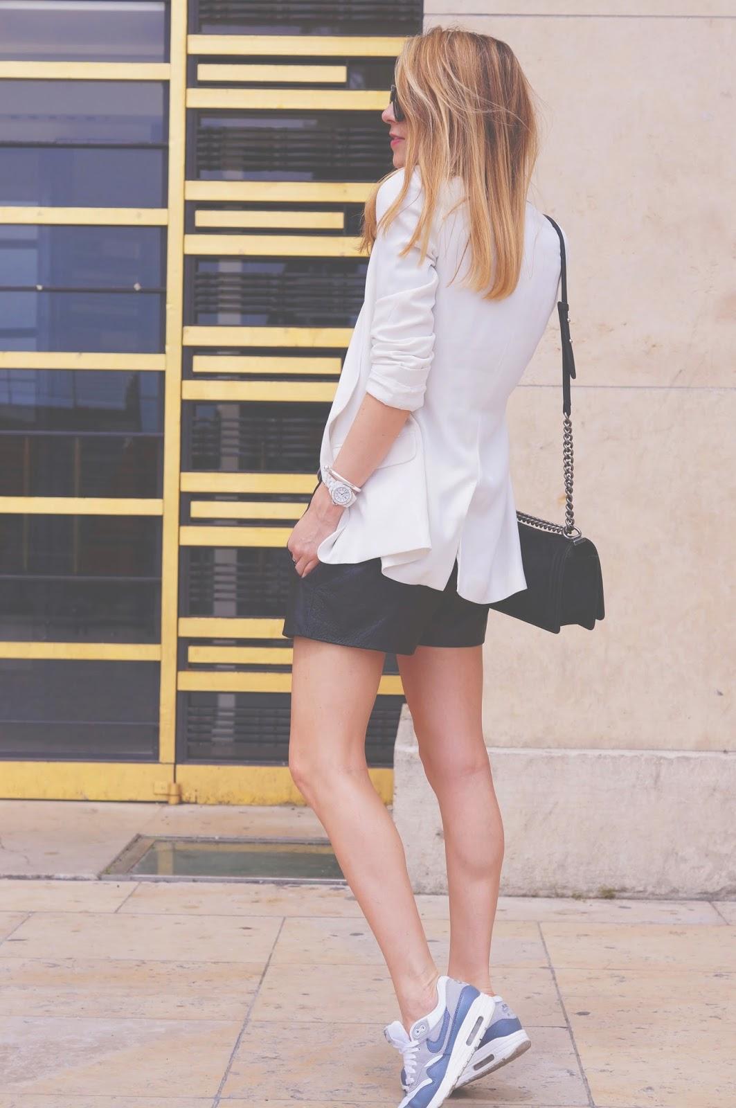 streetstyle, fashionblogger, parisienne, nike, isabel marant, chanel