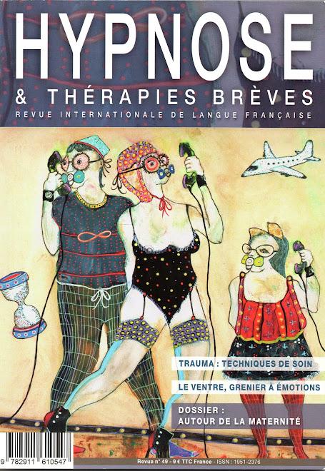 Illustrations Une + ensemble de la revue Hypnose et Thérapies Brèves n°49 (mai/juin/juillet 2018)