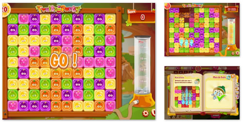 FB Game : Fruits Party
