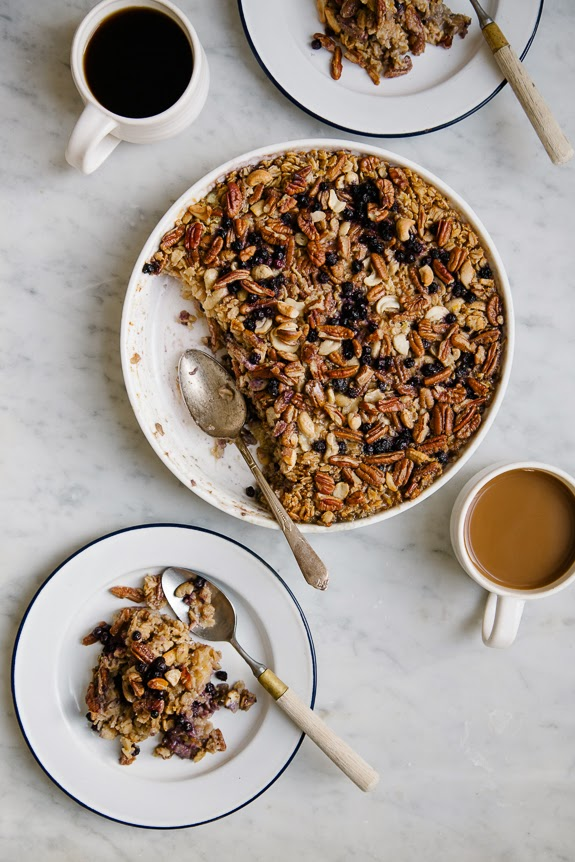 CUP OF JO: Baked Blueberry Oatmeal