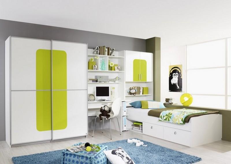 Baños Color Verde Limon:Cuartos de color verde limon : Habitaciones con estilo: DORMITORIOS