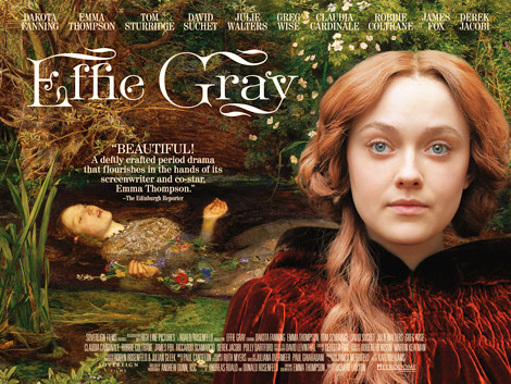 Sinopsis Film Effie Gray 2014 (Dakota Fanning, Emma Thompson)