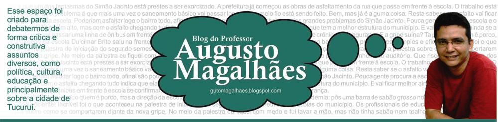 Blog do Prof. Augusto Magalhães
