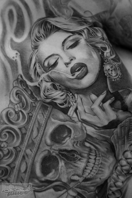 lowrider girl tattoos nude