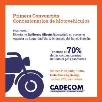 Primera Convención Cadecom. Inscripción: