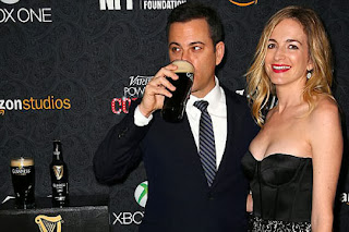 Jimmy Kimmel and his wife, Molly McNearney.