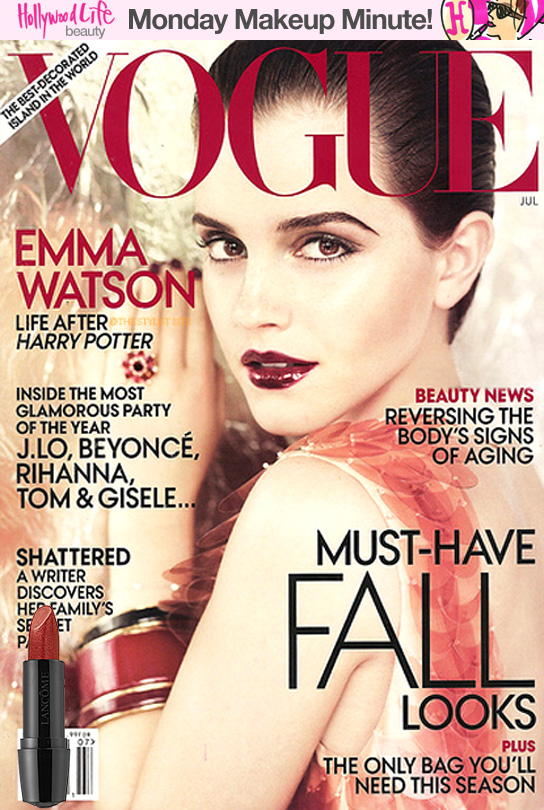 emma watson vogue cover usa. dresses US cover with Emma