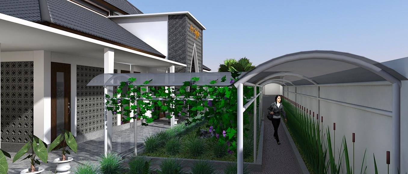 konsep desain masjid modern minimalis di jakarta