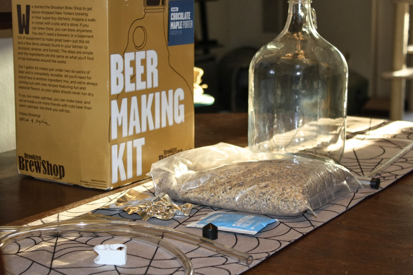 Brooklyn Brew Shop, Chocolate Maple Porter, Kit Contents, Homebrewing, Beer