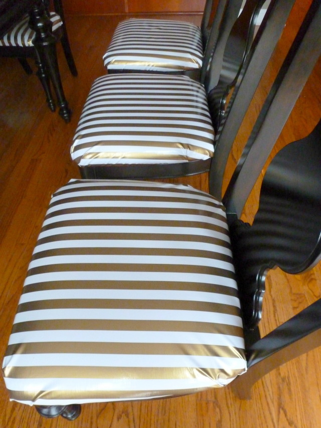 Oilcloth Dining Chair