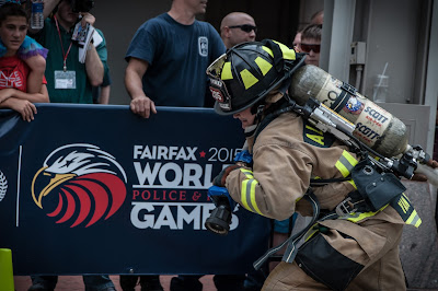 Fairfax Hosted 2015's World Police and Fire Games