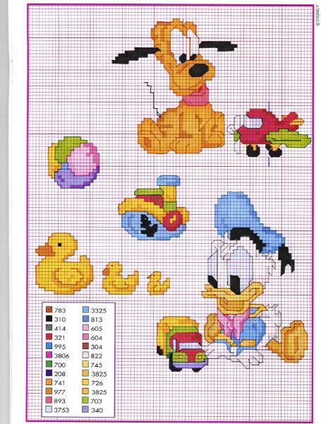 Disegni Disney A Punto Croce Per Bambini Images