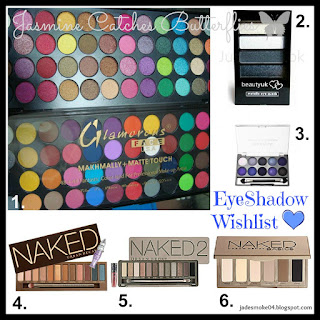 jasmine catches butterflies eyeshadow wishlist