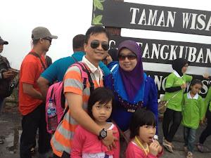 ~ Holiday: Tangkubang Perahu, Bandung.