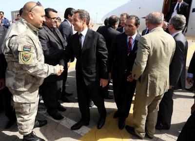 Nicolas Sarkozy et Alain Juppé se sont rendus en Libye