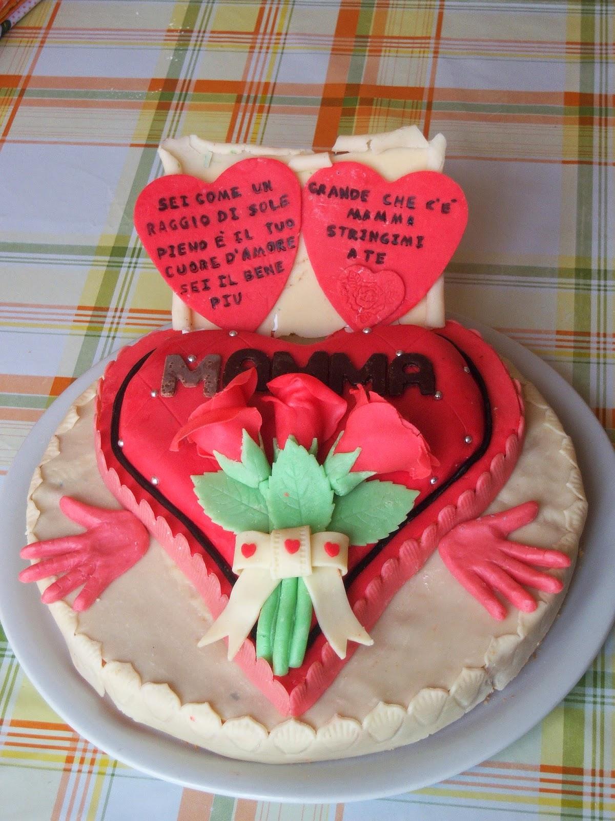 Ricette Facili E Gustose Torta Dolce Cuore Per La Festa Della Mamma