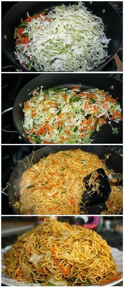 Easy Vegetarian Chowmein Recipe