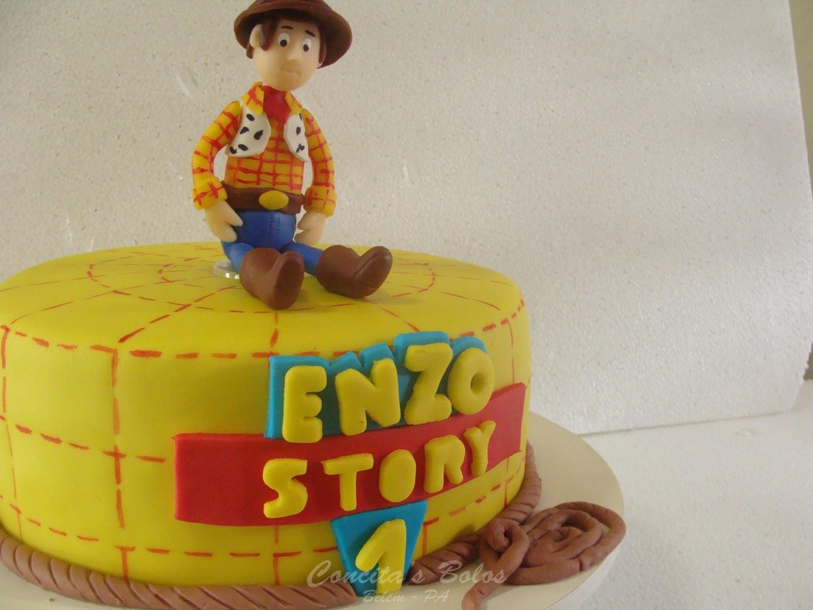 Suficiente Concita's Bolos - Bolos Decorados em Belém.: Bolo do Toy Story IJ17
