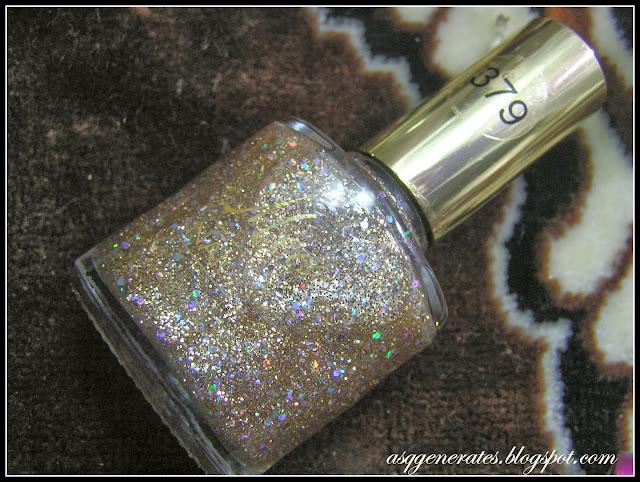 Medora Gold Glitter Nail Polish  379 picture