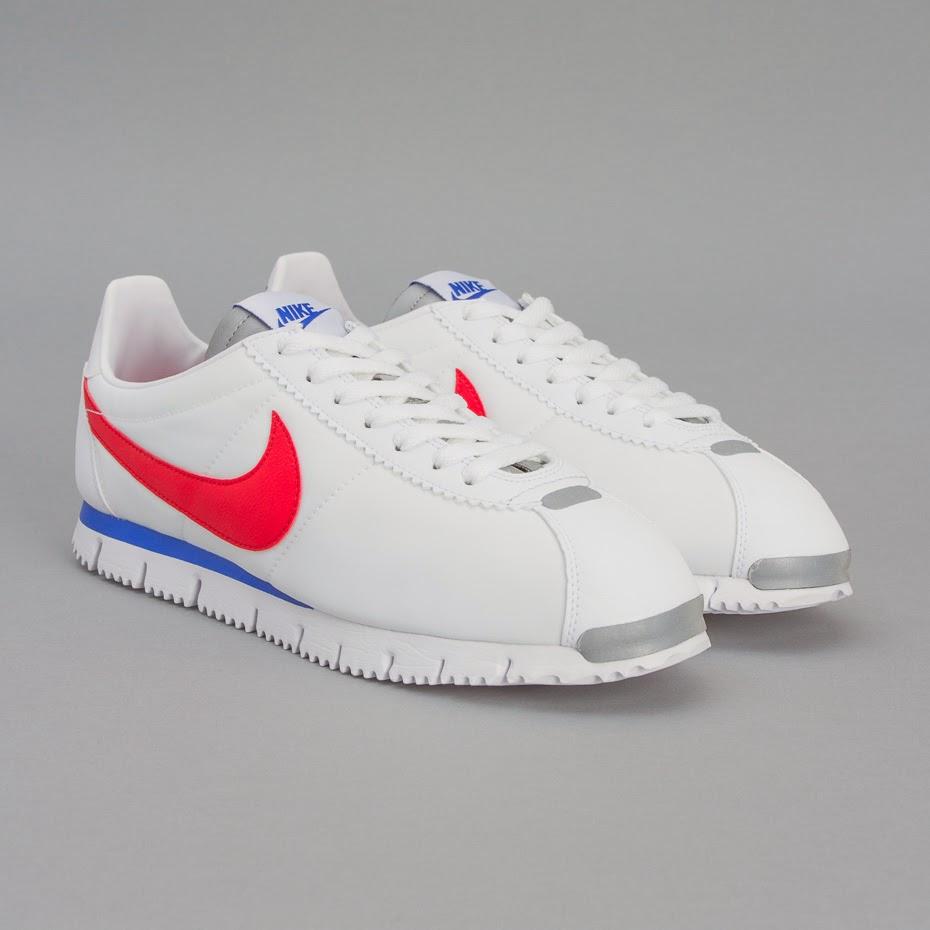 Nike Cortez Silver