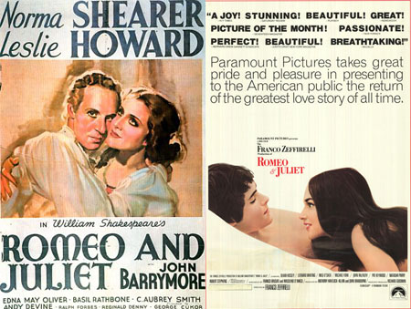 romeo and juliet characters compare and contrast 1968 vs 1996 Romeo and juliet: 1968 vs 1996 zeffirelli's juliet is an active character  romeo and juliet- film comparison baz luhrman and franco zeffirelli's.