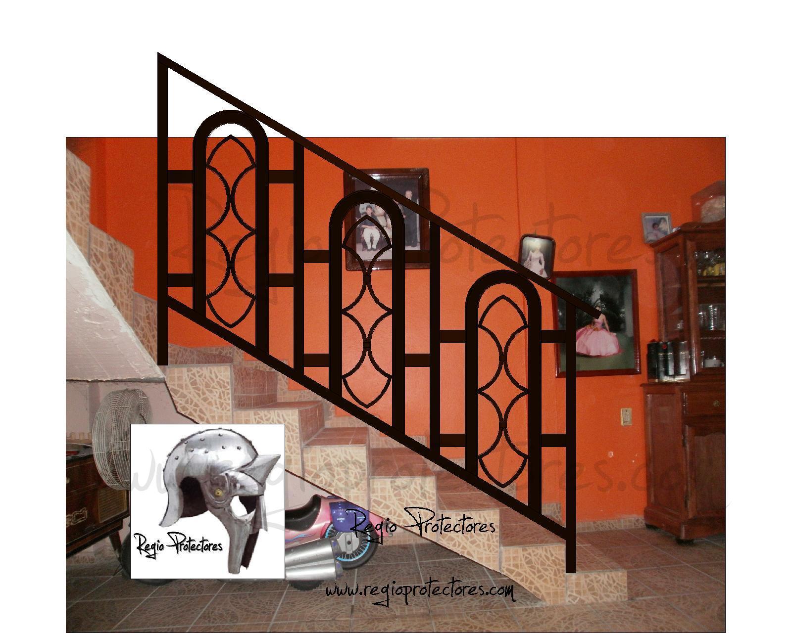 Pasamanos de hierro para escaleras exteriores pasamanos - Pasamanos de escalera ...