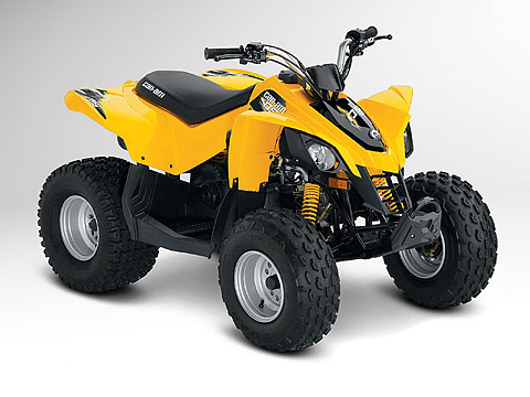 2012 Can-Am DS 70 ATV pictures. 480x360 pixels