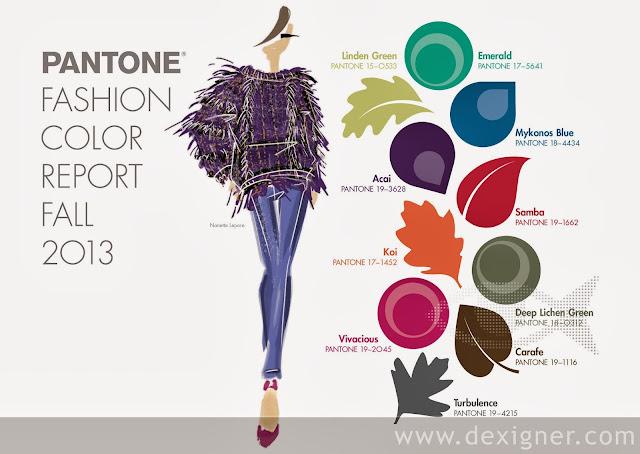 pantone kolory na jesień 2013