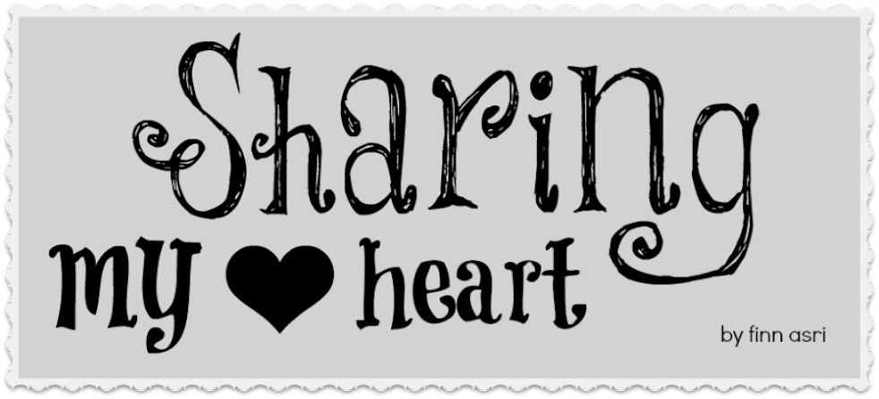 sharing my heart