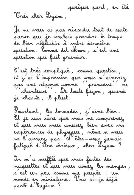 [PS épistolaire] Margotte à Lyam - 9 août 2014, p.4 - Page 4 Lettre+1