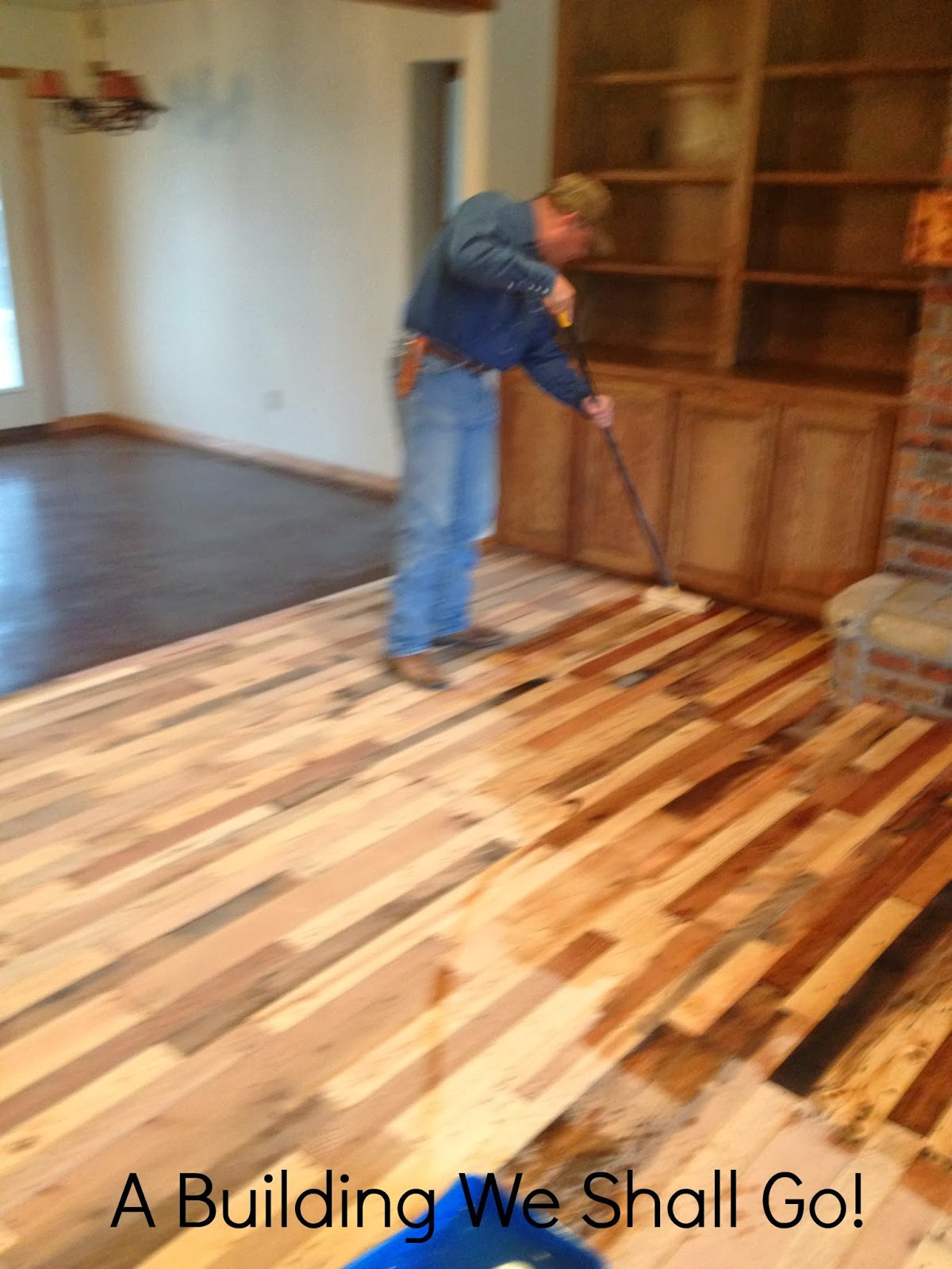 A Building We Shall Go! - A Building We Shall Go!: The Art Of Pallet Wood Flooring