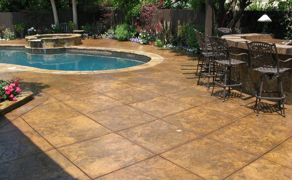 tallerdeimaginacion Stamped Concrete Patio Designs pics