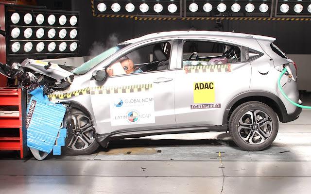 Honda HR-V Crash Test