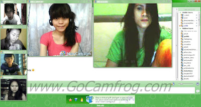 Open More Camera Video in Camfrog Room