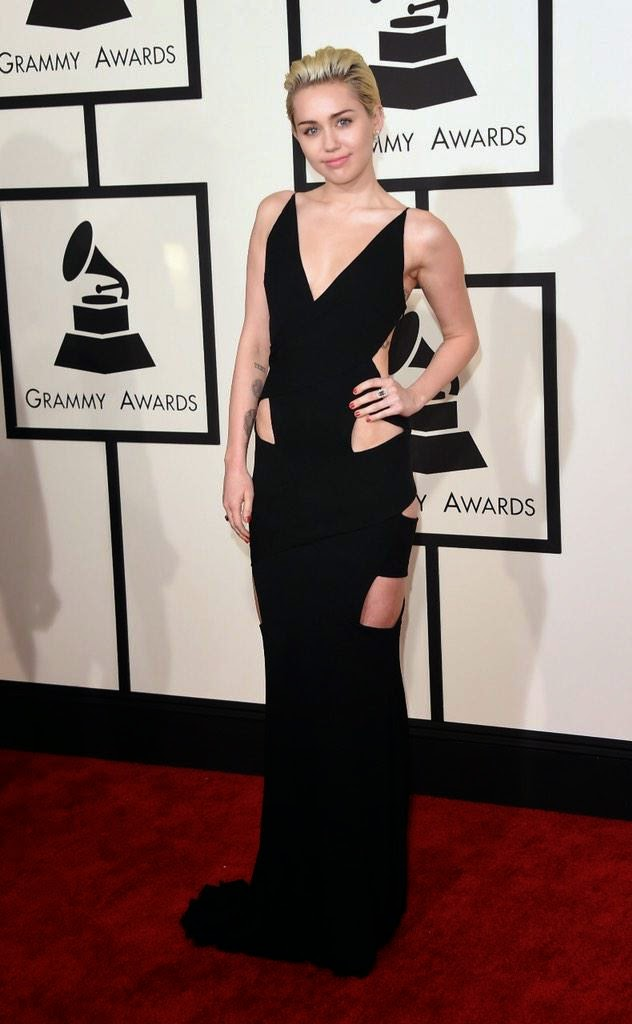 Singer, Actress: Miley Cyrus - The 57th Annual GRAMMY Awards in LA