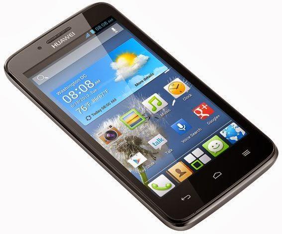 Gambar Huawei Ascend Y511 Hitam