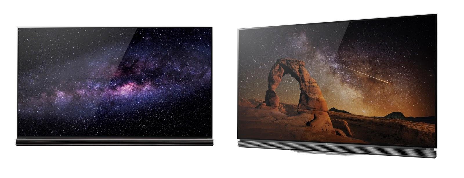 LG OLED TV E6 and G6 revealed at CES 2016