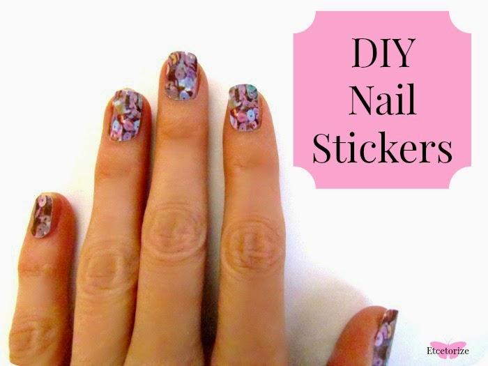 Etcetorize: Make Your Own Nail Stickers